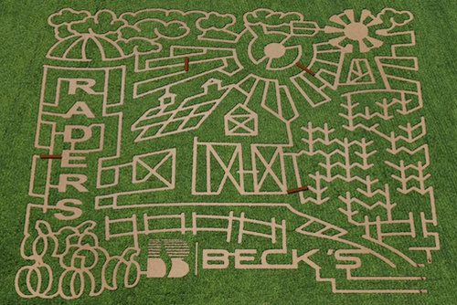 2015 Rader Family Farms Corn Maze