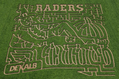 2014 Rader Family Farms Corn Maze